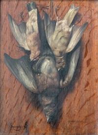 nature morte aux oiseaux by arsène symphorien sauvage