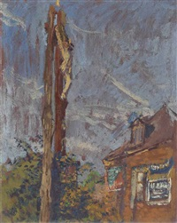 wayside cross by walter richard sickert