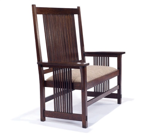 settle model 286 by gustav stickley