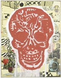 red skull by donald baechler