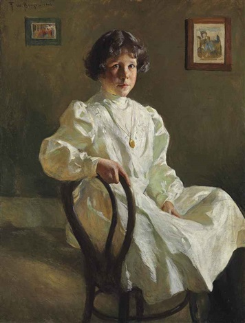 portrait of sue by frank weston benson