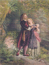 ferdinand and miranda by henry anelay