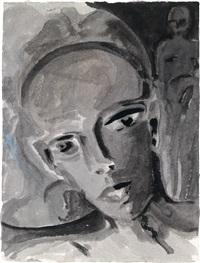 ohne titel (3 works, 1 lrgr) by josef felix müller
