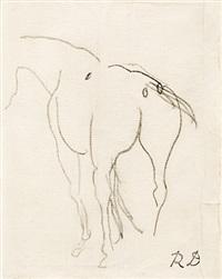 le cheval de course by raoul dufy