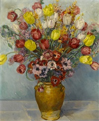 still life with flowers by paul dougherty