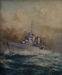 warship by john allcott
