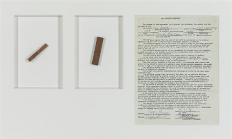 2 part copper mongo by carl andre