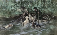 otter hounds by george denholm armour