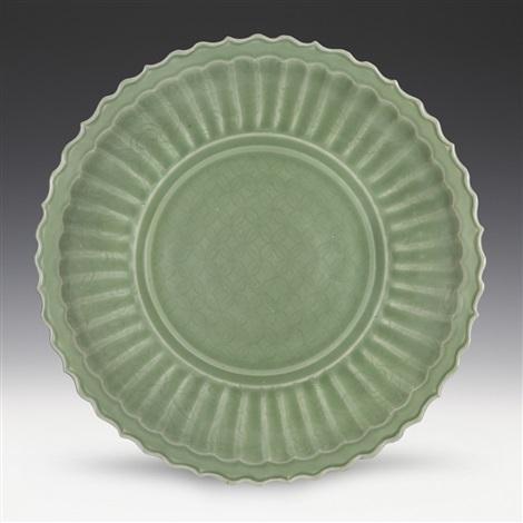 longquan celadon glazed plate