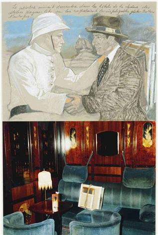 le peintre aimant descendre dans les hôtels by jean le gac