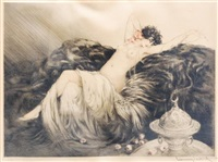 smoke by louis icart