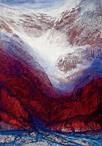 冰谷絕峰 (ice mountain valley) by jan chinshui