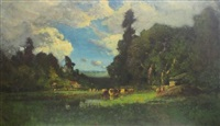 untitled landscape by william keith