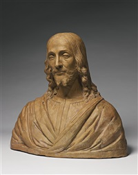 bust of christ the redeemer by andrea del verrocchio