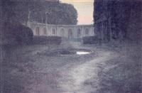 vista de un jardín italiano by fernando labrada