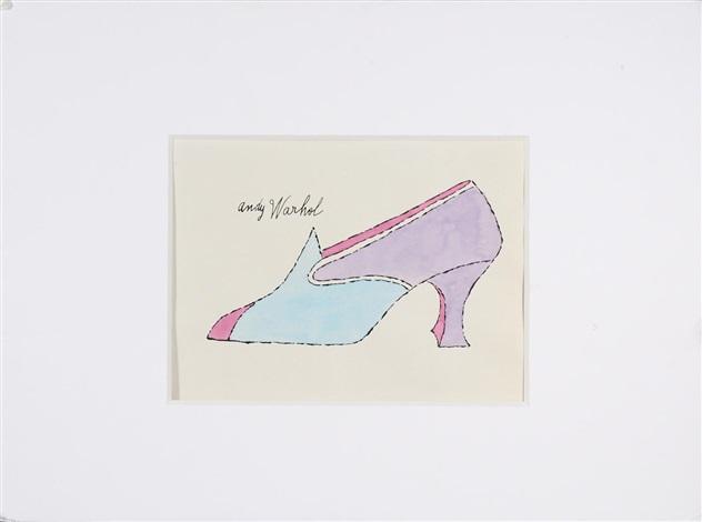 la recherche de shoe perdu by andy warhol