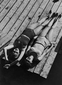 ohne titel (sonnenbad) by vaclav jiru
