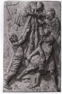 the crucifixion of st. peter by leonhard kern