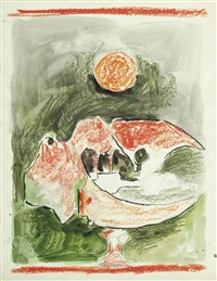study for landscape by graham sutherland