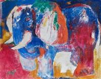 eléphant by bernard lorjou