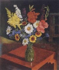 virágcsendélet (still life of flowers) by endre hegedüs
