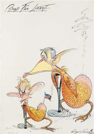 bird flu latest lame ducks also dangerous threat to public by gerald scarfe