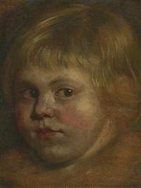 portrait eines kindes by a. van dyck