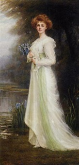 gwendolyn lucy maitland, the 14th countess of lauderdale by charles goldsborough anderson