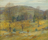 autumn landscape by charles morris young
