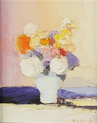 le bouquet jaune by joseph muslin