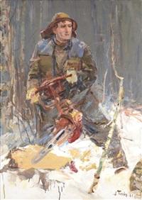 lumberjack pinyaev by alexei pavelovich belykh