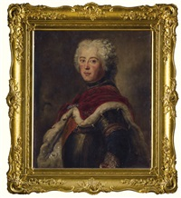 portrait of king friedrich ii of prussia by antoine pesne