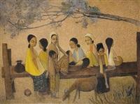malay life by cheong soo pieng