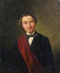 porträt eines jungen herren by franz eybl