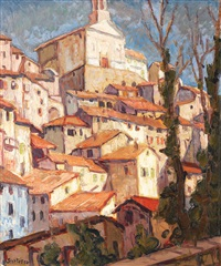 orășel din provence by paul scortesco