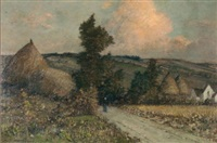 paysage normande by rené billotte