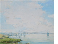harbor clouds by sam hyde harris