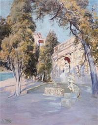 villa du baron de courcel la croisette cannes by raymond allègre