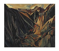 david bomberg, valley of la hermida, picos 1935 by michael ashcroft