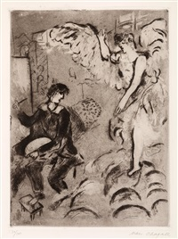l'apparition i by marc chagall