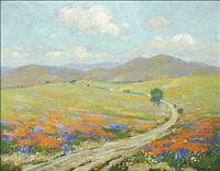 landscape - wildflowers by ferdinand kaufmann