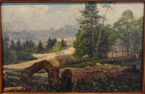 paysage by paul-emile colin