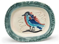 oiseau polychrome by pablo picasso