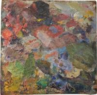 palette de l'artiste by pierre bonnard