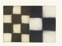 five unions (set of 5) by sean scully