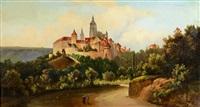 pražský hrad by ferdinand lepie