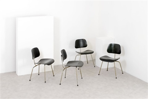Quattro sedie mod lcm by charles and ray eames on artnet