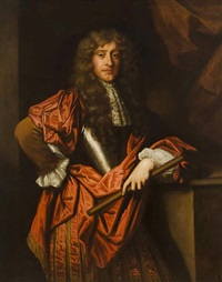 portrait of james duke of york, later james ii by sir peter lely