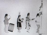 pueblo dance by tonita pena