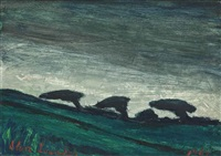 landscape (halseton) by alan lowndes